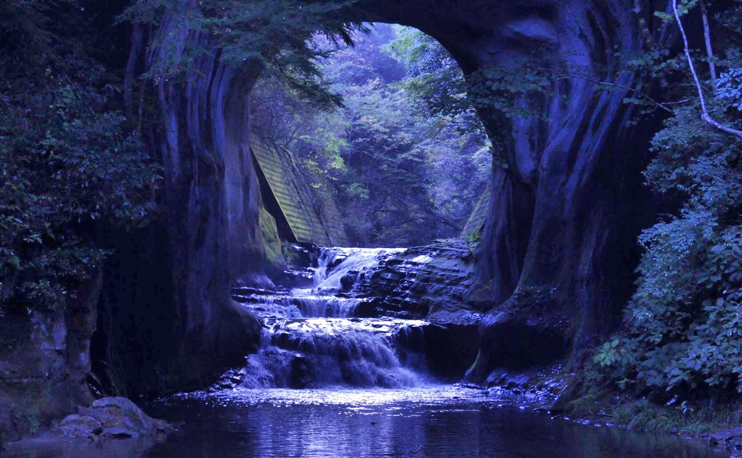 nature, beauty in nature, water, scenics, tree, no people, travel destinations, outdoors, day, waterfall