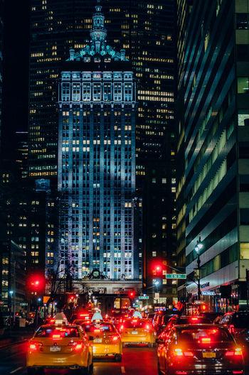 Car Lights City