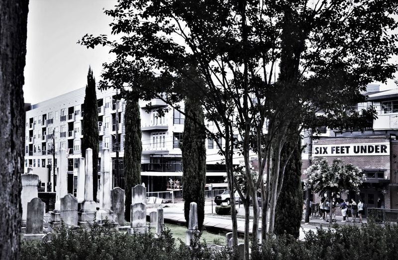 ATL EASTATLANTA Georgia Oakland Cemetery, Atlanta Georgia Restaurant Scene Grantpark Sixfeetunder Streetphotography