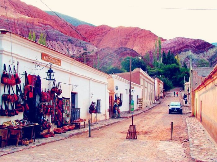Relaxing Eyem Nature Lover Jujuy! House And Montains Purmamarca Landscape Street