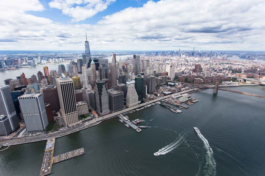 Drone  Helicopter Manhattan Manhattan Skyline Manhattan New York New York New York City New York ❤ Skyline The Big Apple Architecture Bay Building Building Exterior Built Structure City Cityscape Cloud - Sky Financial District  Manhattan Bridge Modern Nature No People Office Office Building Exterior Outdoors Sea Sky Skyscraper Tall - High Urban Skyline Water Waterfront