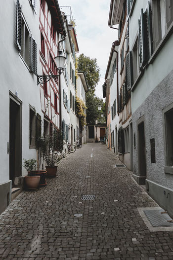 Alleys Alleys Architecture Building Exterior Built Structure City Cobblestone Day Fairy House Märchen No People Outdoors Residential Building Romantic Sky Street The Way Forward Tree Window