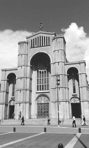 Church Black And White Streetphotography Architecture