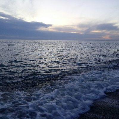 Blacksea Crimea Hello World закат🌇 новофедоровка Sea небо⛅️ свобода Relaxing Sea And Sky