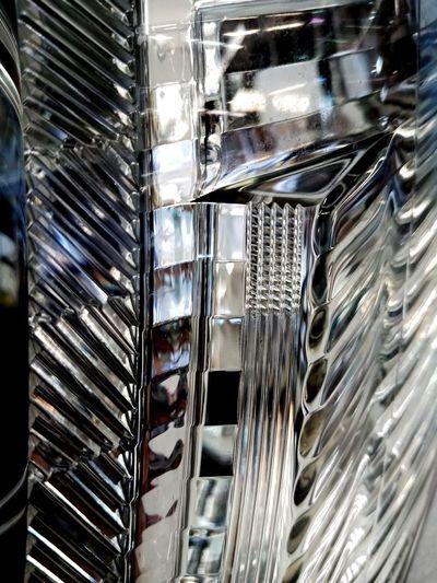 Close-up of metal grate