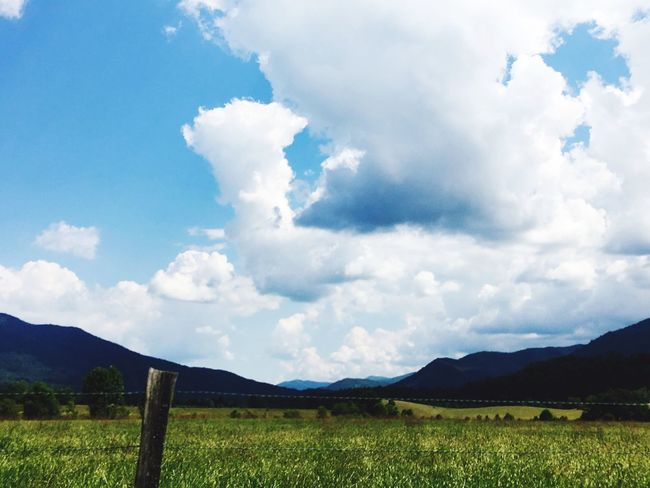 Cades Cove Tennessee Moutains