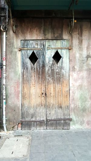 The Week On EyeEm Door Cutouts EyeSeeYou. Natural Wood Coloration Streets Of New Orleans New Orleans St Peter Street Haunted Ghost Tours Walkabout Ash Wednesday