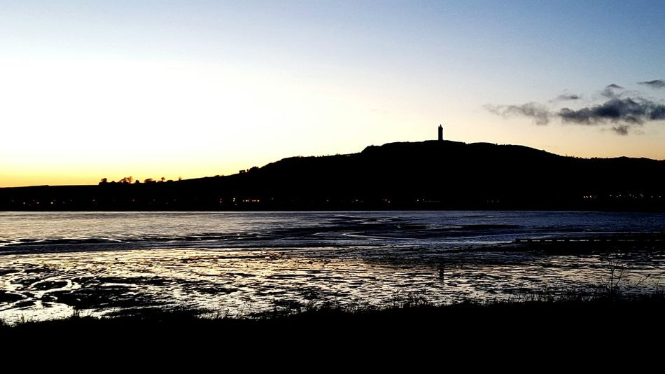 Scrabo Hill & Tower Tim Bailie Newtownards Dailyphoto Newbie Sunset Landscape Scrabo Tower Strangford Lough Mobile Photography Northern Ireland Phone Photography Showcase: January