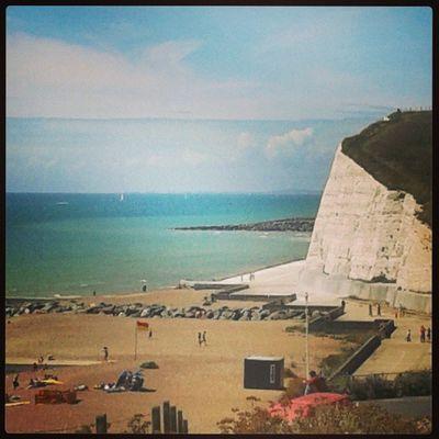 Brighton Sea Ilovethesea Beatiful sunday cliffs sun alone