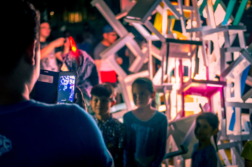People taking pictures of the art installation at Festival Light And Motion Putrajaya (LAMPU) 2017, Putrajaya, Malaysia Art Installation Light Light Festival Lightfestival2017 Lightshow Malaysia Truly Asia Taking Photos Taking Photos Of People Taking Photos Taking Pictures Art Festival Festival Of Lights Lights In The Dark Malaysia Malaysian People Night Putrajaya Taking Pictures Of People Taking Pictures