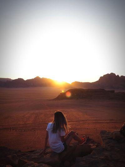 Sunset, Wadi