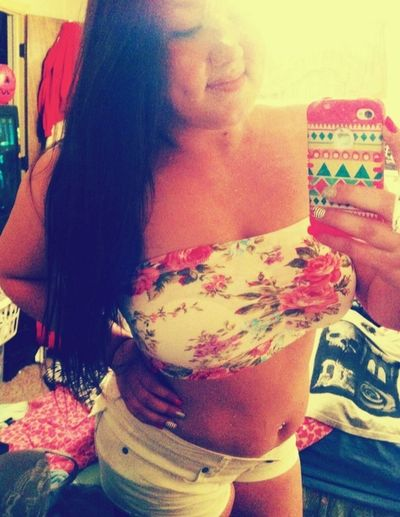 I may not be a perfect size zero but ive learned to love my body just the way it is, fuck whatcha gotta say. Curves Dimples :) Happiness
