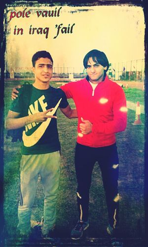 Hi! That's Me In Iraq Iam Very Happy With My Friends In Champions Iraq