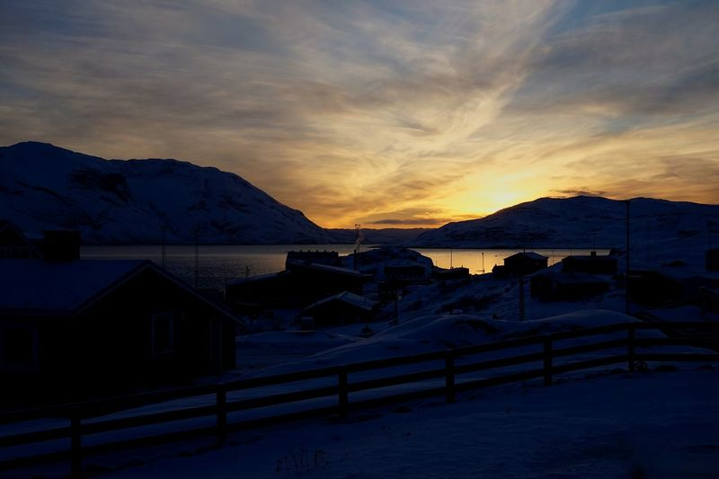 02012017 Narsaq Southgreenland Greenland KommuneKujalleq Cold Temperature Iwishallagreatnewyear Outdoors Beauty In Nature Scenics Sky Cloud - Sky Free Place Where To Relax