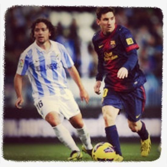 Even with messi's superskills Barcelona couldn't beat Malaga today in a 2-2 upset