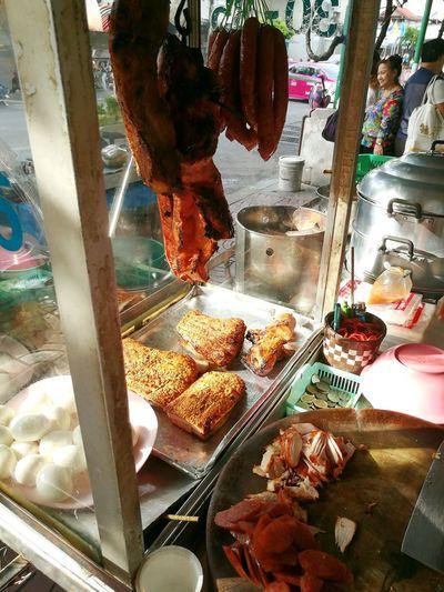 Streetfood Cheapfoodgoodtaste ข้าวหมูแดงร้านประจำ เมนูโปรด