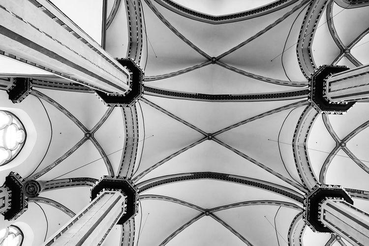 Jesuitenkirche Church Architecture Bonn Jesuitenkirche Himmel Backgrounds Full Frame Close-up Sky