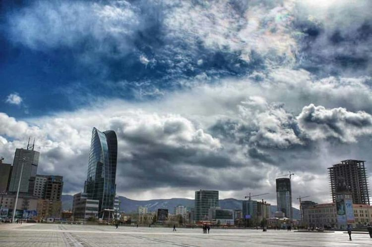 UBCITY Mongolia Clouds Clouds And Sky Sky Hello World Nature Beautiful Nature City Life Sky And City