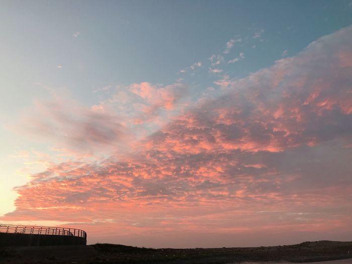 紅色雲彩 Sky Cloud