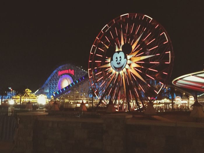 California Dreaming California Disney Disney Socal Life Mickey Mouse Ferris Wheel Carnival