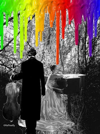 Romantic rainbow by ©Raffreefly Raffreefly Art Artedigitale Artemoderna ARTECONTEMPORANEA Happiness♥ EyeEm Gallery eyeemphoto Astrattismo Visual Creativity Eyeemcommunity Blackandwhite EyeEmdigital Water Spraying Window Graffiti Close-up