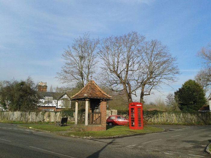 My red NOVA in the Sun and a red phone box at the war memorial History Razorsrides Uk Winter Drives Hello World Check This Out Stinger11th Enjoying The Sun