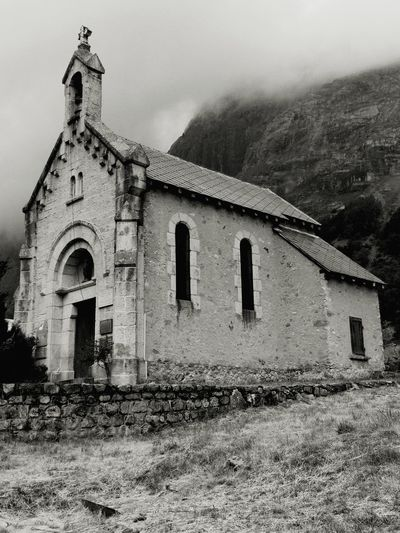 Church Architecture Alpes Old Building France Mountains Hills Nopeople Vintage Religion Christian Catholic