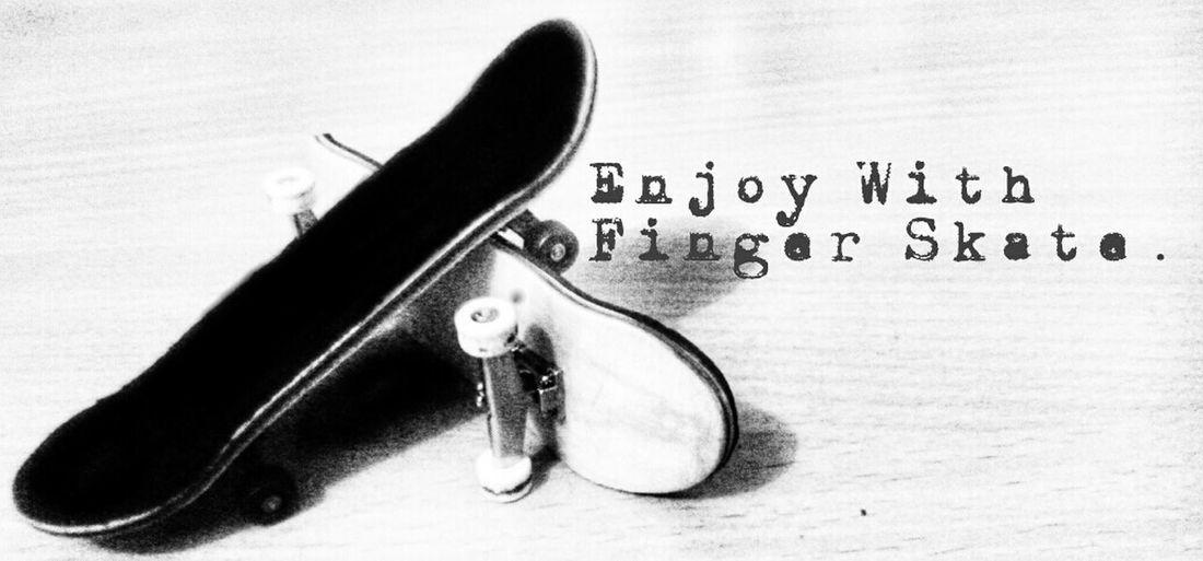 Black And White Skateboarding