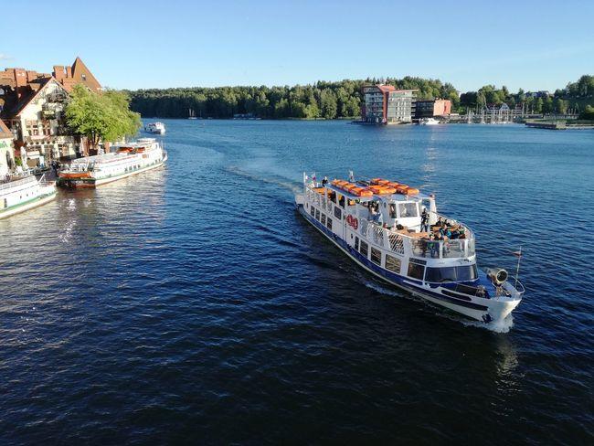 Nautical Vessel Vacations Poland Polska Mazuria Lake District Boat Boats Poland 💗 EyeEm Best Shots Picoftheday Nature Photography Beauty In Nature Travel Destinations Travelphotography