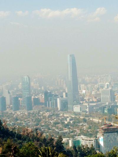 Skyscraper Costanera Center Santiago De Chile