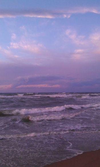 夕方ふぇち 夕景 日本海 20151006🐾👣 秋晴れドライブ🚗 海 Love Japan 内灘海岸 風景 Sea Best Moment 夕方 夕方の海 Sunset Cloud - Sky Sand No People Outdoors Horizon Over Water Water Sky Tranquility Tranquil Scene