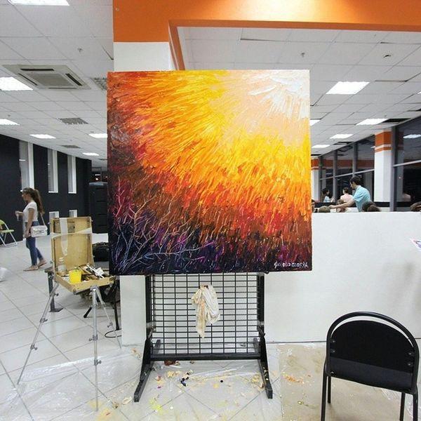 Немного поспамлю вас сегодня картинами с выставки .Life_as_art Lifeasartsunlee картина