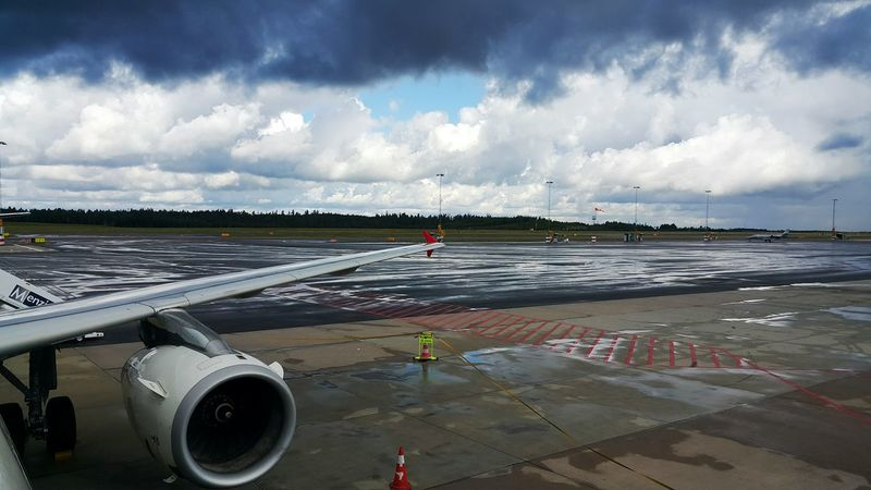 Gothenburg Airport Airport Runway Cloud - Sky Outdoors No People Day Sweden Landvetter Airport ✈ 🚶 🏃 Clouds And Sky