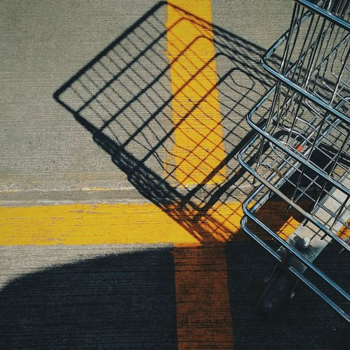 EyEmNewHere Eyem Vision Eyeemphotography Eyemphotos Eyemgallery Eyem Best Shot Eyemcaptured Eyem Market Shopping Cart Shadow Sunlight Day Outdoors Texture Floor Texture