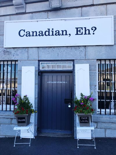 Canadian, Eh? Built Structure Flowering Plant Flower