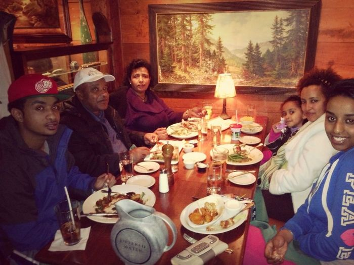 Dinner With The Fam
