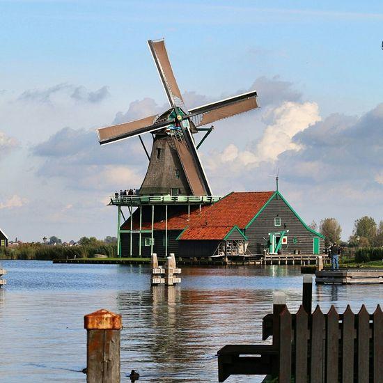 zaanse schans Zaanse_schans Zaanse Schans Postcards Zaanstad Zaandam Holland Windmills
