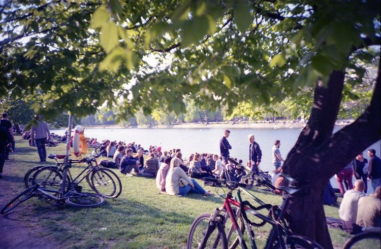 Berlin Canal Chill City Crowd Leisure Activity Mayday  Outdoors Relaxation The Great Outdoors - 2016 EyeEm Awards Tree