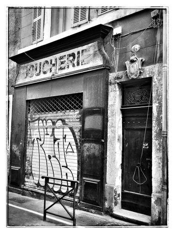 Marseille en N&B NEM Street NEM Black&white Blackandwhite Provence