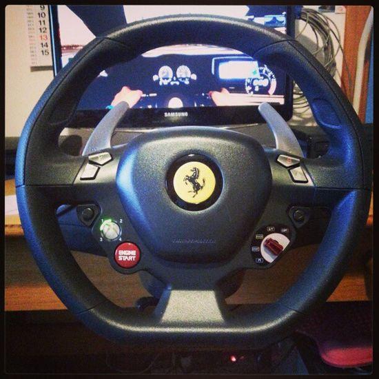 Thrustmaster Ferrari Ferrari458  Ferrari458Italia forzamotorsport forzamotorsport4 xbox xbox360 mircosoft volante steeringwheel xboxwheel cool