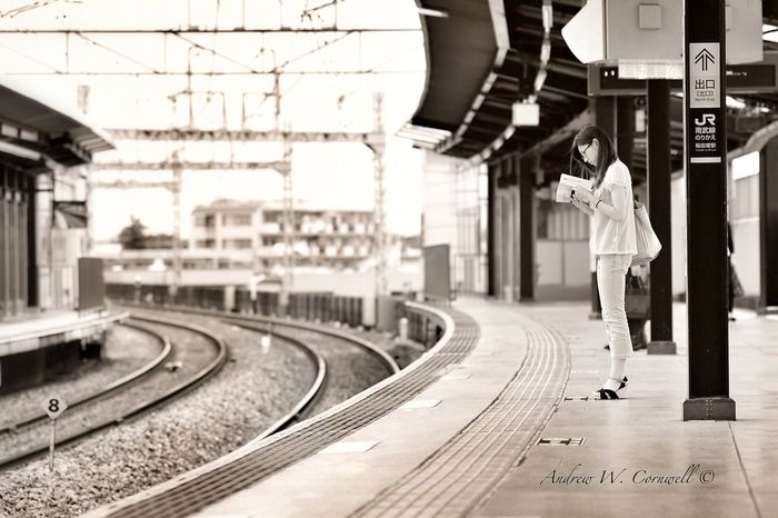 Commuting Blackandwhite Streetphotography A.W.C. Streetphotography