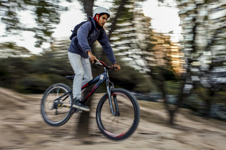 Extreme Jump Motion Blur Bicicleta Bicycle Bicycles Deporte Extremo Extreme Sports Jumping Motion Motion Capture Motion Photography One Person Speed Sport Sport Bikes Sports