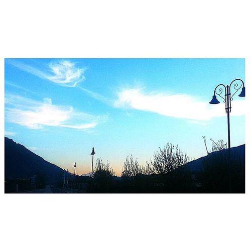Sky Skyline Skyporn Blu Blue Nature Naturelover Naturelovers Natural Autumn Autumnleaves Autunno  November Paesaggiirpini Avellino Campania Regione Ig_avellino Av Igers Igersitalia Picoftheday Moment Instapicture Times l4l followme