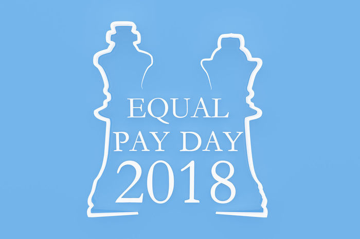 3D 3D Art 3d Rendering Chess Chess Piece Day Equal Pay Day Equality Female Females King Lady Male Males  Man Pay Pieces Queen Shapes Shapes And Forms Sign Symbol Woman