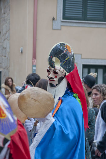 xinzo de limia carnival Xinzo De Limia Adult Architecture Building Exterior Built Structure Carnibal Du Loup Celebration Day Lifestyles Men Outdoors People Performance Real People Xinzo De Limia Carnival Young Adult