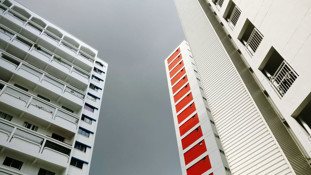 Oneplus3 Oneplusphotograpgy Building Apartment Singapore No People Architecture Cloudy Day Cloudy Weather Weather