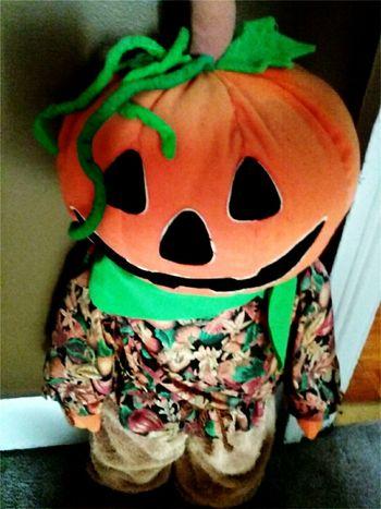 Indoors  Close-up Halloween Late Pumpkin
