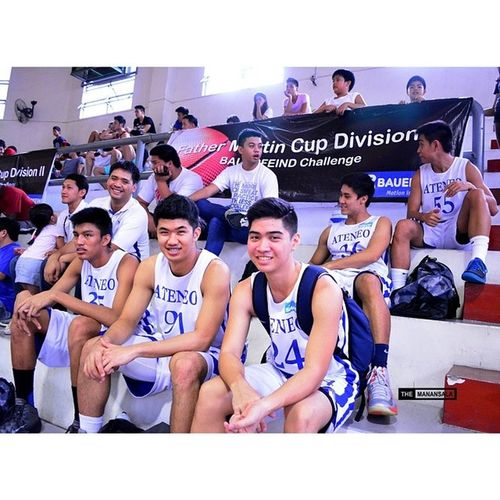Team Ateneo ??? . . . Fmc FrMartinCup AGBvsNCBA Admu ateneo agb ateneogloryB hoop basketball themanansala