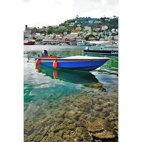 island life goal : own this boat Littleblueboat Stgeorge Grenada Carenage Islandlife 473