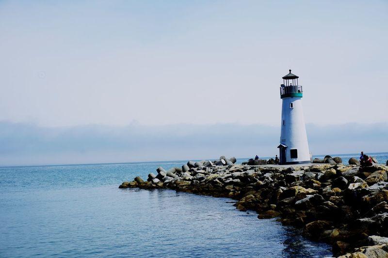 Lighthouse Sea